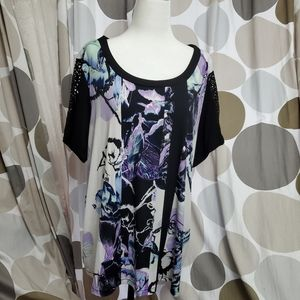 Style & Co Floral Blouse